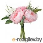 смикка, искусственный букет, розовый, 25 см 204.098.42