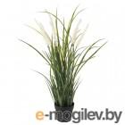 фейка, искусственное растение в горшке, д/дома/улицы украшение, трава, 9 см 804.339.38