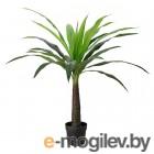 фейка, искусственное растение в горшке, д/дома/улицы пальма, 24 см 904.103.09