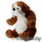 КЛАППАР, Мягкая игрушка, бульдог коричневый, белый 204.412.05