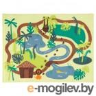 ДЬЮНГЕЛЬСКОГ, Ковер, короткий ворс, джунгли, деревья, 133x100 см 103.937.66