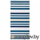 СОНГЛЭРКА, Ковер безворсовый, темно-синий, 80x160 см 704.270.37