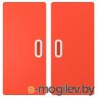ФРИТИДС, Дверь, красный, 60x64 см 2 шт 703.867.96