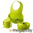 МАТА, Набор посуды, 4 предм, зеленый 403.647.29