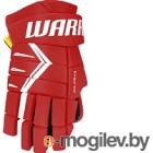 Перчатки хоккейные Warrior Alpha DX5 / DX5G9-RDW10 (красный/белый)
