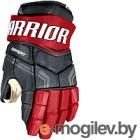 Перчатки хоккейные Warrior QRE Pro / QPG-BRD12 (черный/красный)