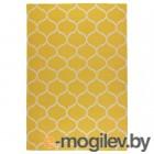 СТОКГОЛЬМ, Ковер безворсовый, ручная работа, сетчатый орнамент желтый, 170x240 см 103.709.63