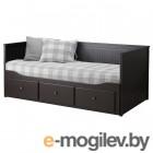 Ikea Хемнэс 200x160 (черно-коричневый, малфорс ср. жест.) 792.989.79