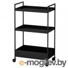 Сервировочный стол Ikea Ниссафорс (черный) 104.073.63