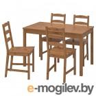 йокмокк, стол и 4 стула, морилка,антик 403.714.90