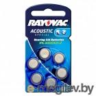 Батарейки Varta Rayovac Type 675 04600945416
