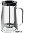 ЭГЕНТЛИГ, Кофе-пресс/заварочный чайник, двуслойные стенки, прозрачное стекло, 0.9 л 703.589.77