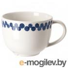 МЕДЛЕМ, Кружка, белый/синий, с рисунком, 42 сл 004.101.44
