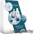 Набор косметики для лица Vichy Минерал 89 гель-сыворотка+вода термальн.+уход д/кожи вокруг глаз (50мл+150мл+15мл)