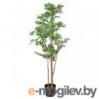 ФЕЙКА, Искусственное растение в горшке, Фикус Бенджамина Экзотика, 21 см 103.751.83
