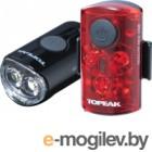 Набор фонарей для велосипеда Topeak Mini Combo USB / TMS080
