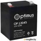 Аккумулятор для ИБП Optimus OP 12045 (12В/4.5 А·ч)