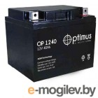 Аккумулятор для ИБП Optimus OP 1240 (12В/40 А·ч)