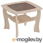 Журнальный столик Мебельград №14 (дуб сонома/ель карпатская)