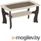 Журнальный столик Мебельград №15 (венге мали/ясень жемчужный)