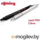 Механический карандаш Rotring rapid PRO грифель 2.0мм цвет черный
