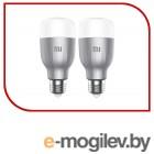 Умная лампа Xiaomi Mi LED Smart Bulb E27 10Вт 800lm Wi-Fi (упак.:2шт) (MJDP02YL)