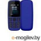 Сотовые / мобильные телефоны, смартфоны Nokia 105 (TA-1203) w/o charger Blue 16KIGL01A19
