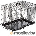 Клетка для животных Duvo Plus Pet Kennel Large 780/482/DV (черный)