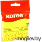 Блок для записей Kores 47076.05 (желтый неон)