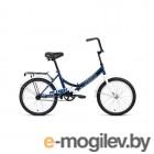 Велосипед 20 Altair City 20 1 ск 19-20 г::14 Темно-синий/Белый/RBKT0YN01003