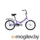Велосипед 20 Altair City 20 1 ск 19-20 г::14 Фиолетовый/Серый/RBKT0YN01007