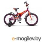 Велосипед Stels 16 Jet Z010 (LU087403)::Фиолетовый/Оранжевый