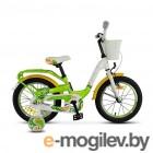 Велосипед Stels 16 Pilot 190 (LU089094)::Зеленый/Желтый/Белый