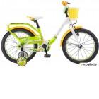 Велосипед Stels 18 Pilot 190 (LU089617)::Зеленый/Желтый/Белый