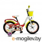 Велосипед Stels 18 Pilot 190 (LU089617)::Красный/Желтый/Белый