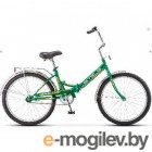 Велосипед Stels 24 Pilot 710 (LU085350)::Зеленый/Желтый