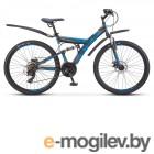 Велосипед Stels Focus 26 MD 21 sp V010 Чёрный/Зелёный (LU088523)::18