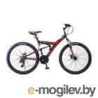Велосипед Stels Focus 26 MD 21 sp V010 Чёрный/Красный (LU088523)::18