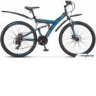Велосипед Stels Focus 26 MD 21 sp V010 Чёрный/Синий (LU088523)::18