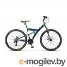 Велосипед Stels Focus 27,5 MD 21 sp V010 Серый/Желтый (LU089832)::19