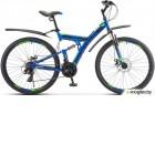 Велосипед Stels Focus 27,5 MD 21 sp V010 Синий/Неоновый-зеленый (LU089832)::19