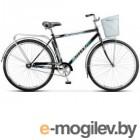 Велосипед Stels Navigator 28 300 Gent Z010/Z011 (с корзиной) (LU085341)::Серый