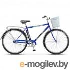 Велосипед Stels Navigator 28 300 Gent Z010/Z011 (с корзиной) (LU085341)::Синий