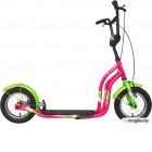 Самокат Stels Trail 3 V020 (LU085293)::Розовый/Зеленый