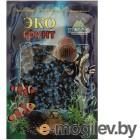 Грунты для аквариумов и террариумов Цветная мраморная крошка Эко грунт 2-5mm 1kg Black/Light Blue 500038