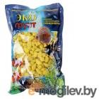 Грунты для аквариумов и террариумов Цветная мраморная крошка Эко грунт 5-10mm 1kg Yellow 440011