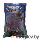 Грунты для аквариумов и террариумов Цветная мраморная крошка Эко грунт 2-5mm 3.5kg Lilac/Red г-1076