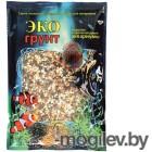 Грунты для аквариумов и террариумов Галька Эко грунт Феодосия №0 2-5mm 1kg 450010