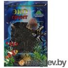 Грунты для аквариумов и террариумов Цветная мраморная крошка Эко грунт 2-5mm 7kg Black 7-1042
