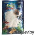 Грунты для аквариумов и террариумов Кварцевый песок Эко грунт Кристальный 1-2mm 1kg 500045